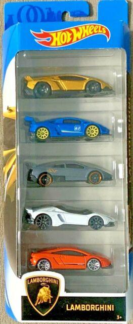Hot Wheels 2020 Lamborghini Veneno Huracan Murcielago Aventador 5-Pack GHP62