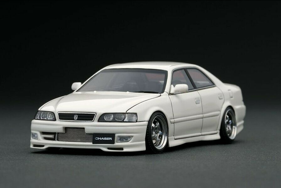 IG1237 ignition model 1 43 Toyota Chaser  Tourer V JZX100 Pearl blanc Wo-Wheel  magasin en ligne