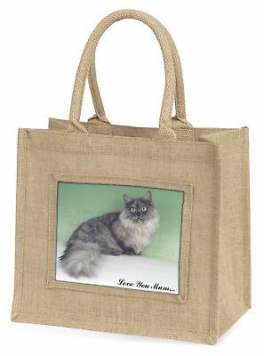 Munchkin Katze' Liebe, die sie Mama 'Große natürliche jute-einkaufstasche