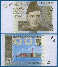 PAKISTAN 5 Rupees 2008  UNC  P.53