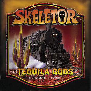 SKELETOR-Tequila-Gods-Digipak-CD-2000-German-HellFire-Rock-039-n-039-Roll-NEW