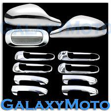 05-11 Dodge Dakota Chrome Non-Fold Mirror+4 Door Handle no PSG KH+Tailgate Cover