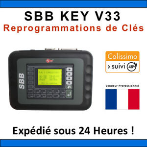 sbb key programmer v33 outil programmateur de cl s obd2 tacho pro com vag ebay. Black Bedroom Furniture Sets. Home Design Ideas