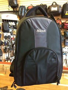 Genuine-Nikon-padded-Backpack-perfect-for-D3400-D5600-D7200-D5000-D3200-D7500
