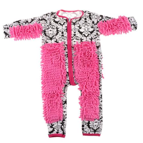 Baby Schneeanzüge Wischmopp Overall Strampler Spielanzug Unisex Jumpsuit