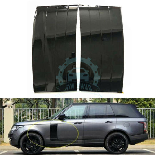 2pcs Car Side Air Inlet Frame Exterior Trims For Land Rover Range Rover 2018