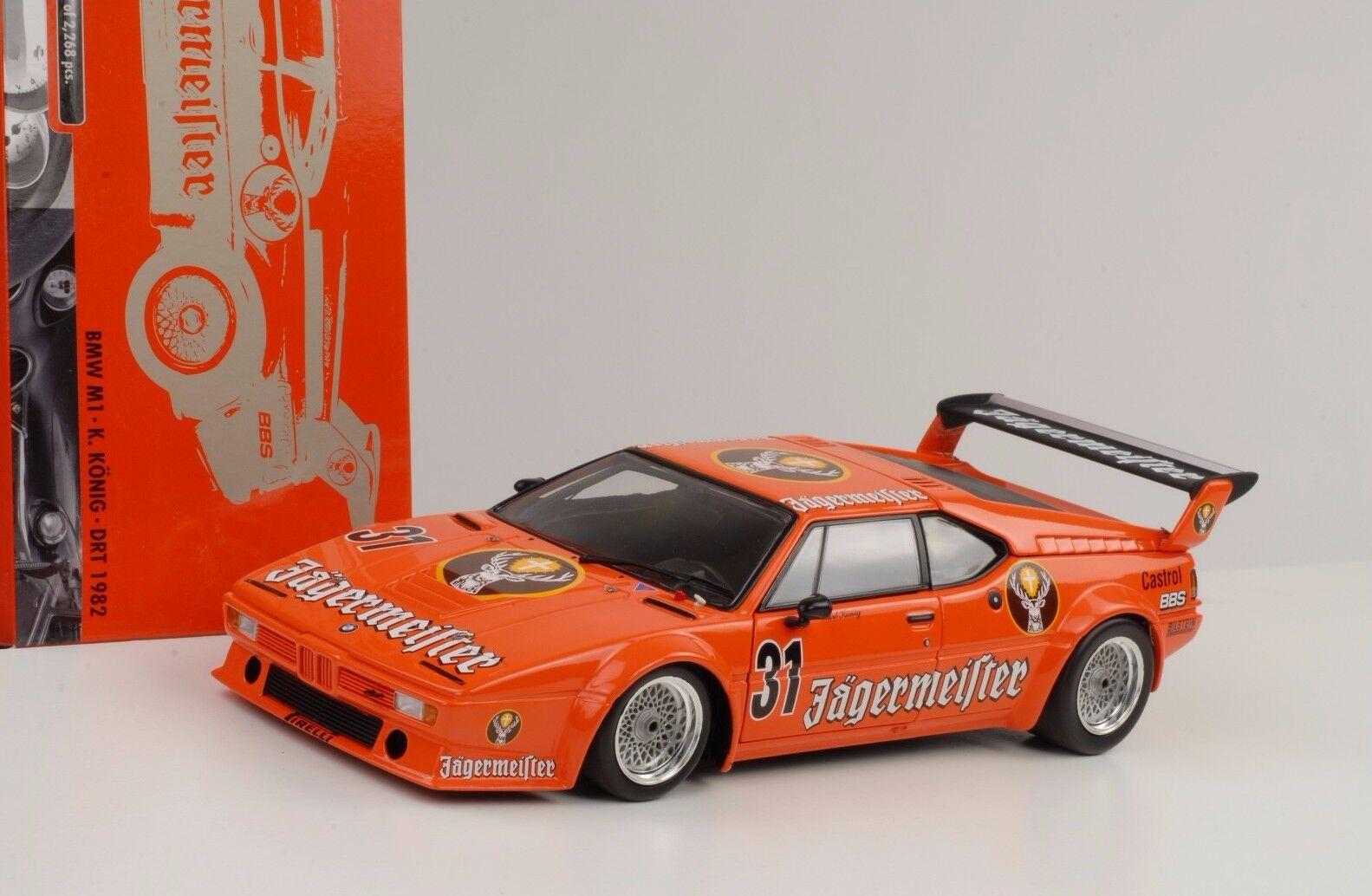 1982 BMW m1  31 endroit Jagermeister roi 1 18 MINICHAMPS