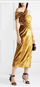 2800 Jason Wu Collection Gold Velvet