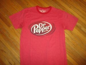 DR-PEPPER-T-SHIRT-Retro-Ringer-Tee-Savvy-Adult-MEDIUM