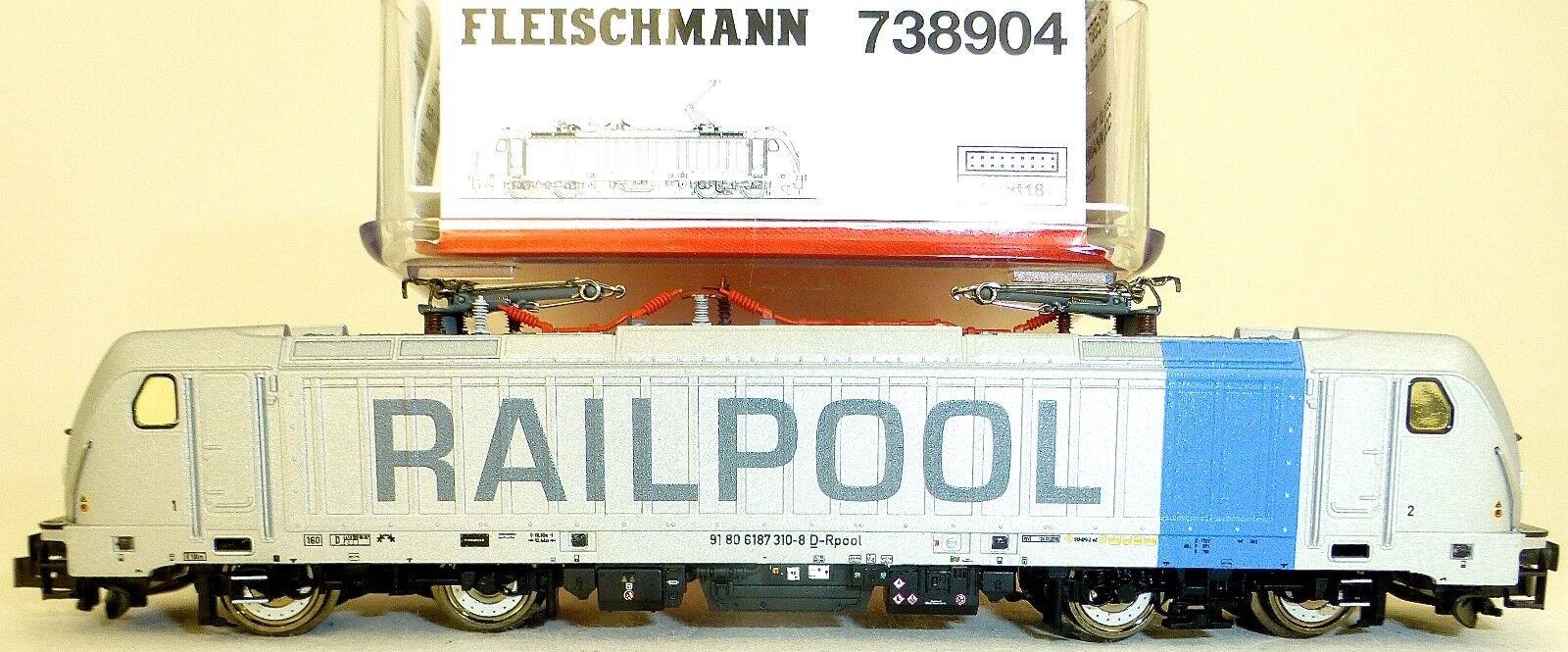 Br 187 Railpool Dss Next18 Kkk Nem 355 Epvi Fleischmann 738904 N 1 160