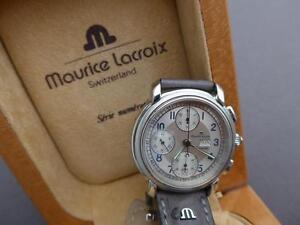 Das Bild wird geladen  Armbanduhr-Herrenuhr-Maurice-Lacroix-Masterpiece-Automatik-Ref-Nr-