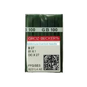 1 Pack Overlock Sewing Needle #20 B27 Groz-Beckert