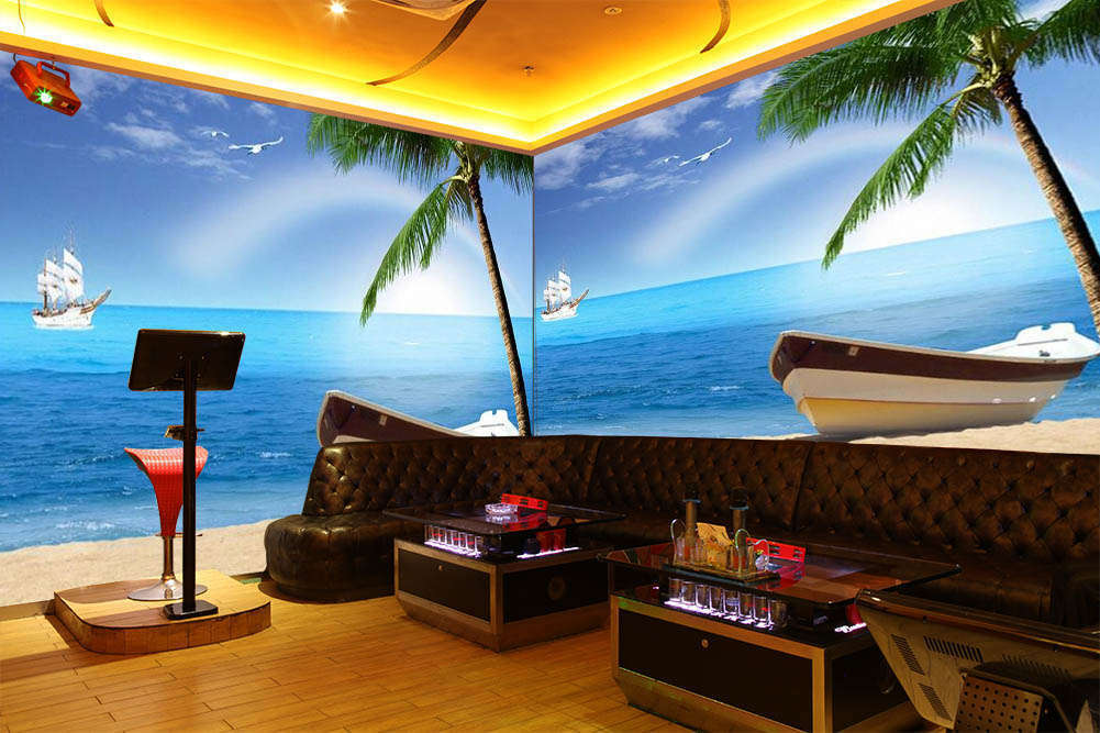 Set Sail To The Sea 3D Full Wall Mural Photo Wallpaper Printing Home Kids Decor