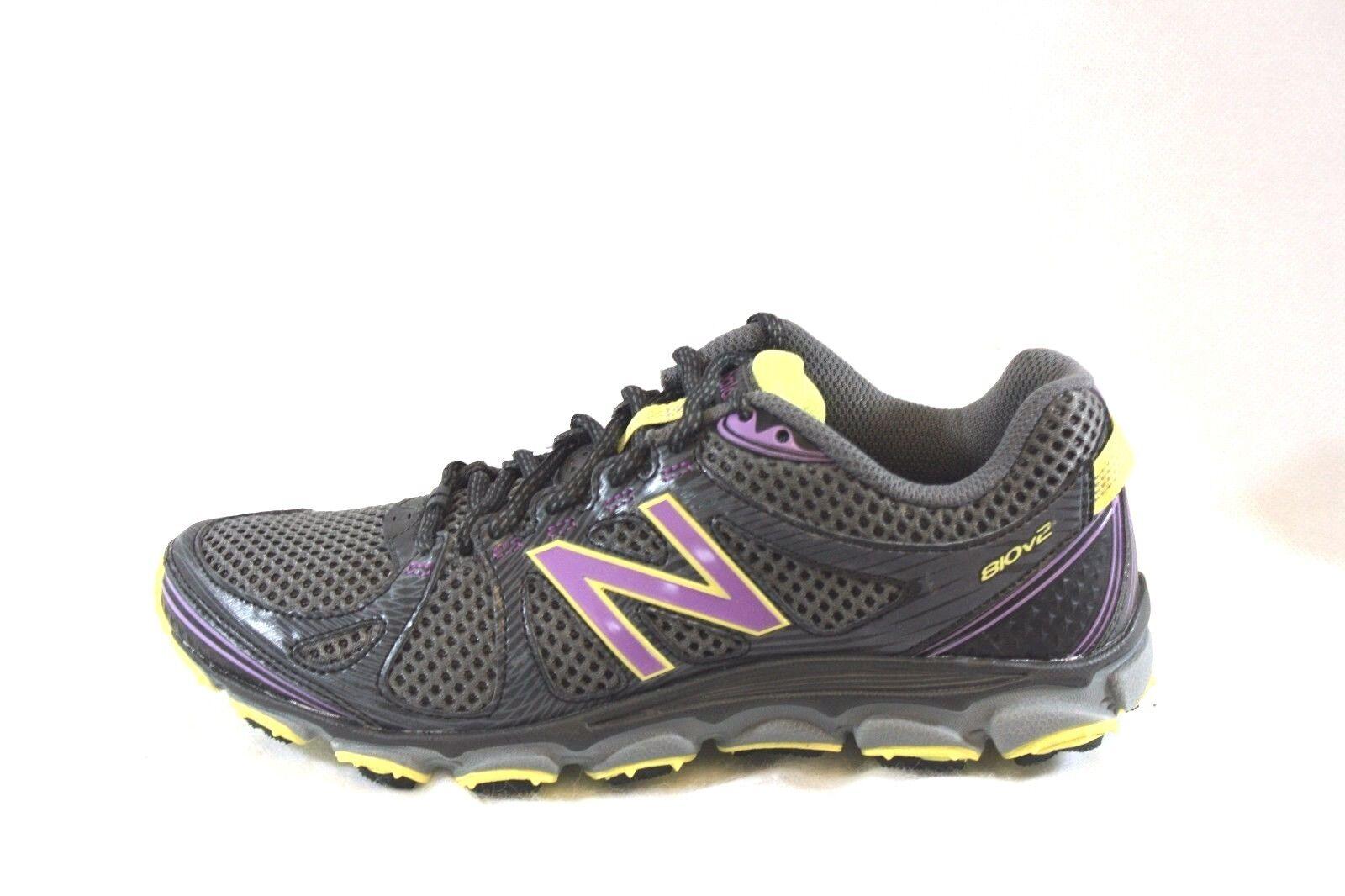 NEU Damenschuhe NEU BALANCE WT 810 PY2 Gray Purple Yellow Running Sneakers Schuhes