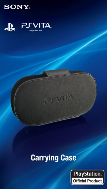 Official Sony PlayStation PS Vita Black Protective Carrying Case Kick Stand 1000