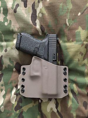FDE Kydex Glock 43 Holster