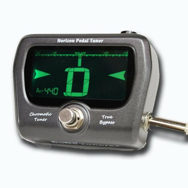 gogo tuners horizon chromatic pedal guitar and bass tuner for sale online ebay. Black Bedroom Furniture Sets. Home Design Ideas