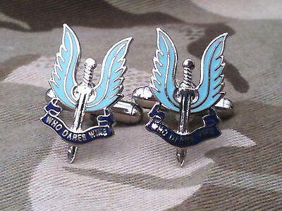 SAS Military Cufflinks Special Air Service Engraved