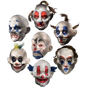 Joker Clown Mask Adult Mens The Dark Knight Halloween Costume Accessory EBay