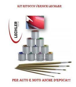 Details about SET PAINT TOUCH-UP LECHLER MOTORCYCLE CAR FIAT ALFA 724  GRIGIO BEIGE