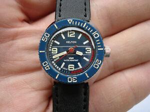 Montre plongée KELTON - 1960 - fonctionne bien
