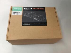 NEW-AGPTEK-LKV372A-60M-190FT-1080P-HD-HDMI-NETWORK-EXTENDER-OVER-SINGLE-CAT6-6A