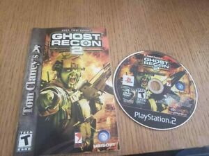 Tom-Clancy-039-s-Ghost-Recon-2-Sony-PlayStation-2-2004-PS2