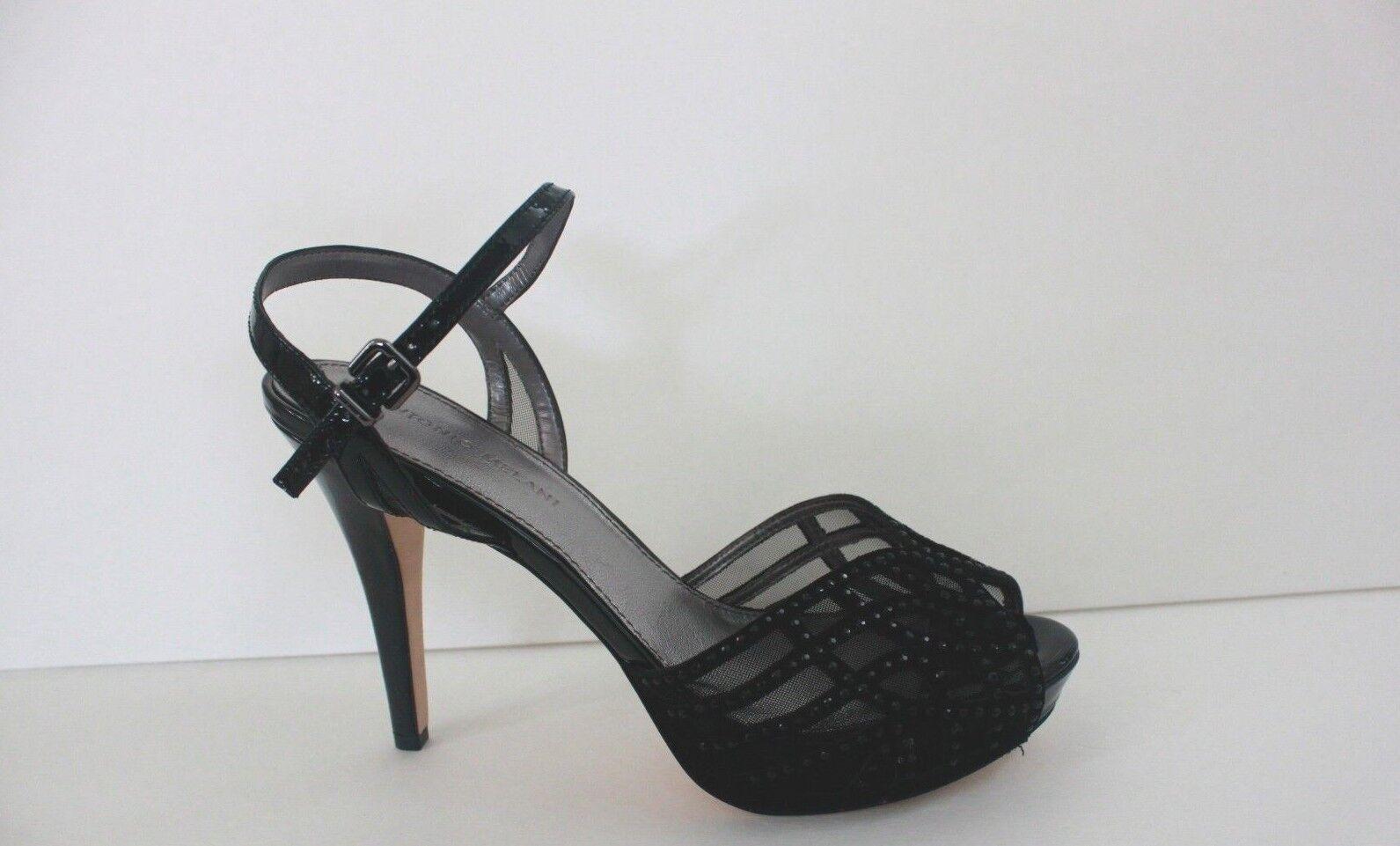 Antonio Melani damen Jeweled schuhe Größe 9.5   10 M Kid Suede Classic Pump Heels