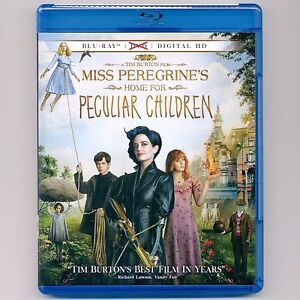Details about Miss Peregrine's Home For Peculiar Children 2016 PG-13 movie  new Blu-ray, NO DVD