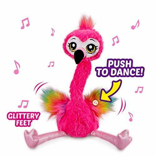 9522 Frankie le Funky Flamant Battery-Powered Dancing Robot