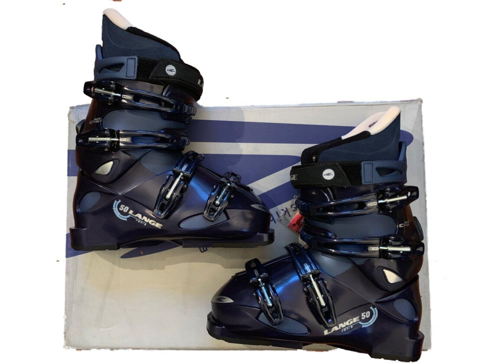 Lange VEN S 50   women's Ski boots bluee size mondo 24 ,  US 7 women NEW  incentive promotionals
