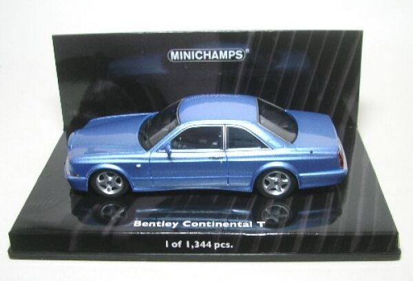Bentley Continental T (bluee) 1996
