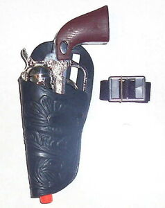 Little Cowboy Western Left Hand Holster Set w/ Clicker Pistol, CLOSEOUT