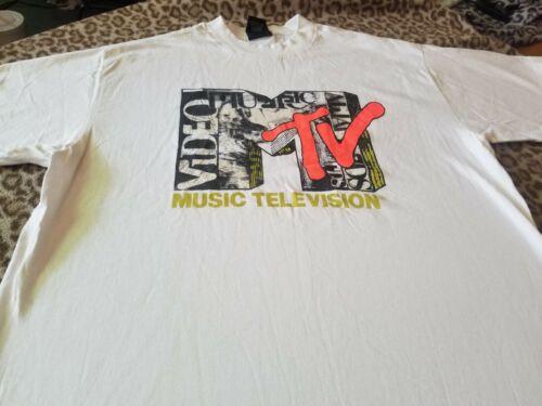 MTV RARE 1993 VIDEO AWARDS PROMO TEE SHIRT NIRVANA