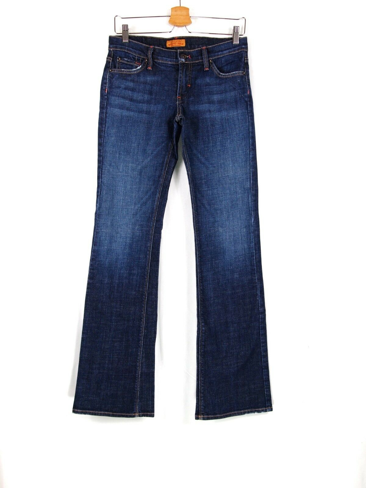 James Jeans Graphite Distressed Bootcut Jeans 28