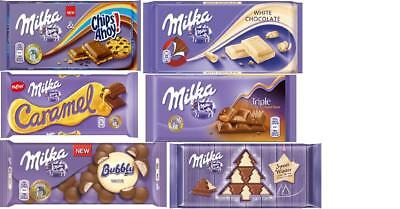 Milka Chocolate 25 Flavours From Poland 90g 100g Oreo Limited Winter Lu Tuc Ebay