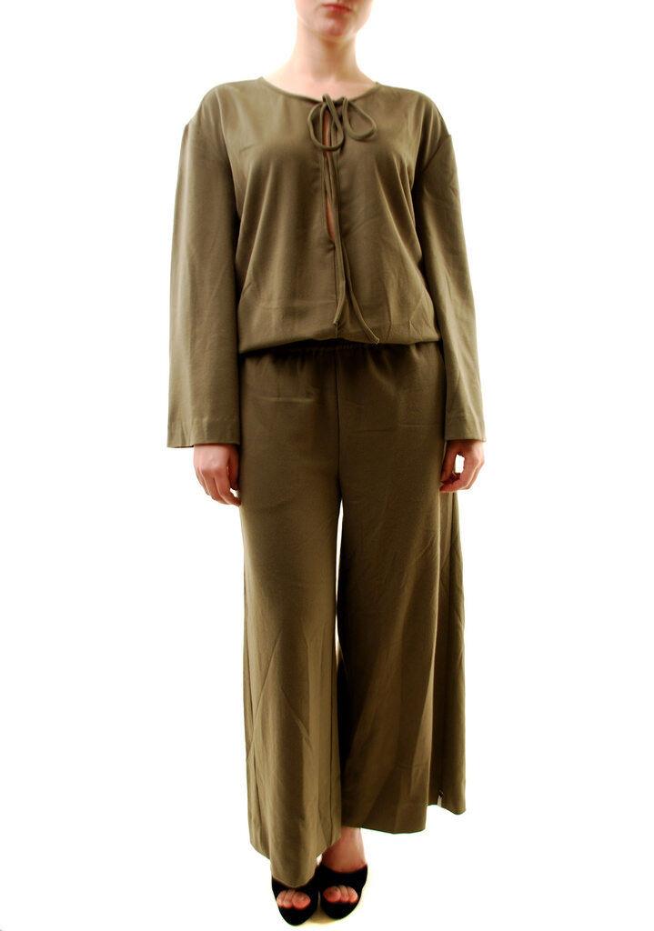 One Teaspoon Frauen Olive Jumpsuit Khaki Größe S UVP  BCF72