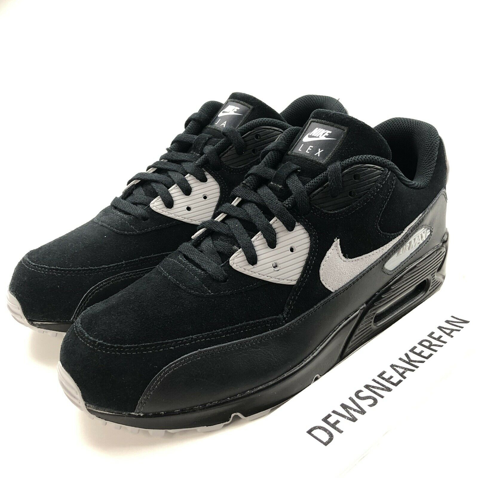Nike iD Air Max 90 Men's 12 Customized By Jeremiah Shoes