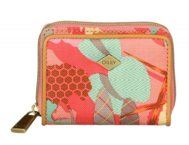 4057a508be3d Oilily Purse Botanic Pop XS Wallet Pink Flamingo