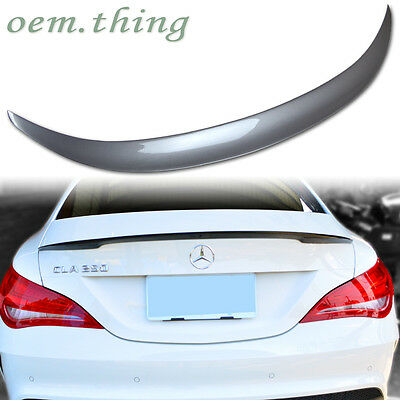 Painted Mercedes Benz CLA-Class W117 C117 4D D Type Trunk Spoiler CLA250 2016