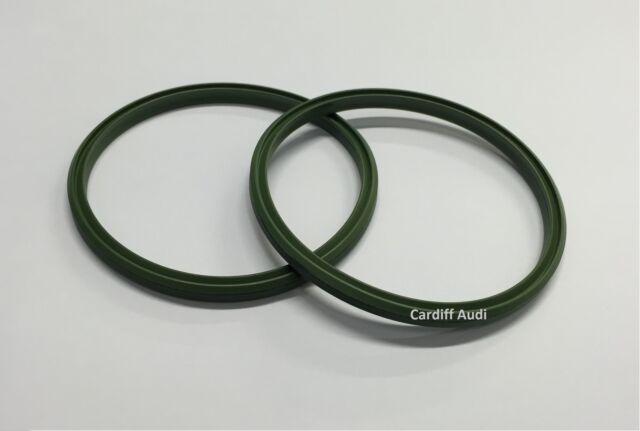 Genuine AUDI VW x2 Intercooler Boost Pipe Seals 3C0145117H (Set of 2)