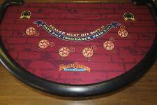 Genuine Blackjack Layout from Palace Station Las Vegas