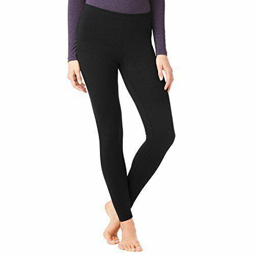 BLACK 32 Degrees Heat Women/'s Base Layer Pant Thermal Pant