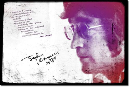 John Lennon Arte Foto impresión de Cartel De Regalo