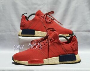 ADIDAS-Red-NMD-Sneakers-Women-039-s-Size-9US