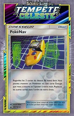 Carte Pokemon Neuve Française PokéNav 140//168 SL07:Tempête Celeste