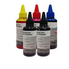 KIT 5 x 100ml inchiostro Colori Ricarica Cartucce per Brother Cano Epson HP