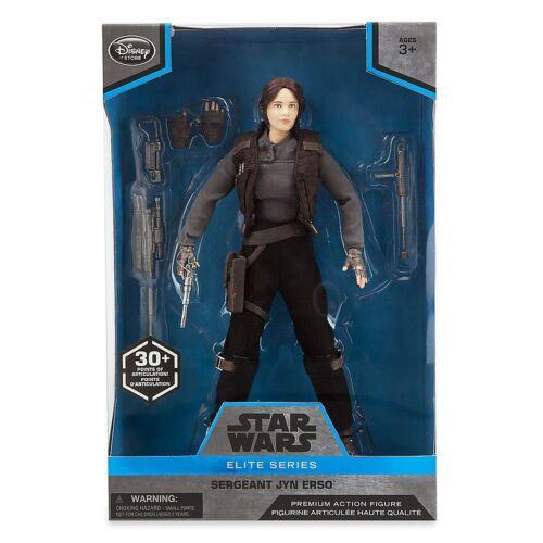 10 Inch Star Wars Elite Series Jyn Erso Premium Action Figure
