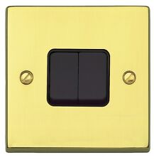 Mk grosvenor plus laiton poli 3 gang 2 way interrupteur de lumière K4373 pob