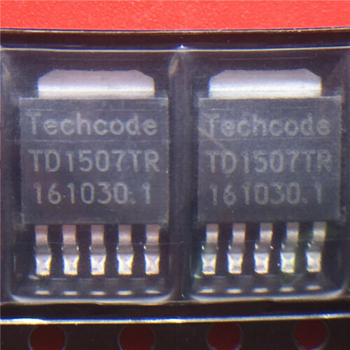 5PCS TD1507TR 2.5A 150KHZ PWM Buck DC//DC Convertidor TO252-5